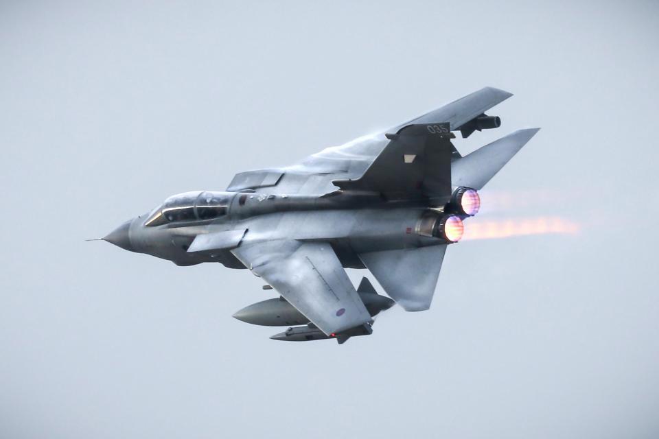 Last Tornado Flight